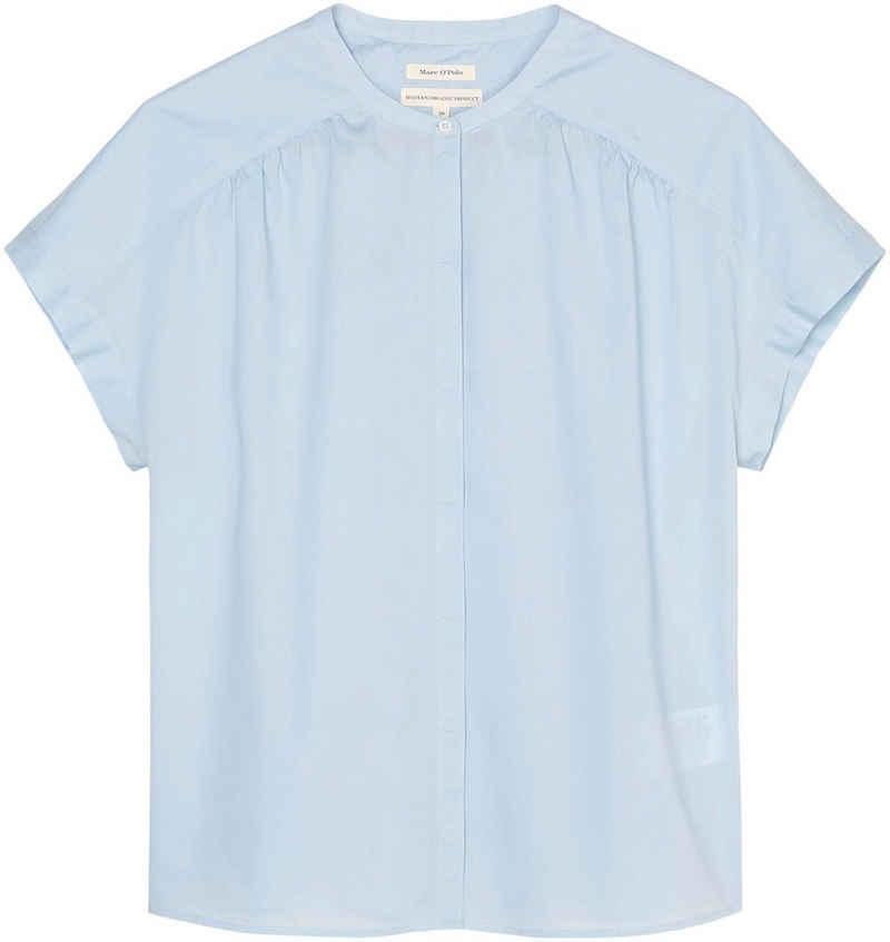 Marc O'Polo Shirtbluse mit verdeckter Knopfleiste