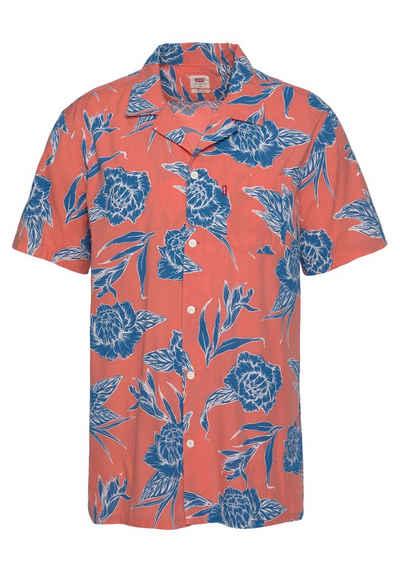Levi's® Kurzarmhemd mit sommerlichem Print