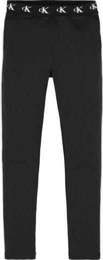 Calvin Klein Jeans Sweathose »MONOGRAM STR SLIM« in extra schmaler Form