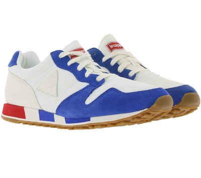 Le Coq Sportif »Le Coq Sportif Omega BBR Sneaker zeitlose Damen Low Top Schuhe Freizeit-Schuhe Weiß/Blau« Sneaker