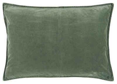 Ib Laursen Kissenbezug »Kissenhülle Kissenbezug Samt Velour Grün 70x50cm Ib Laursen 6229 59«