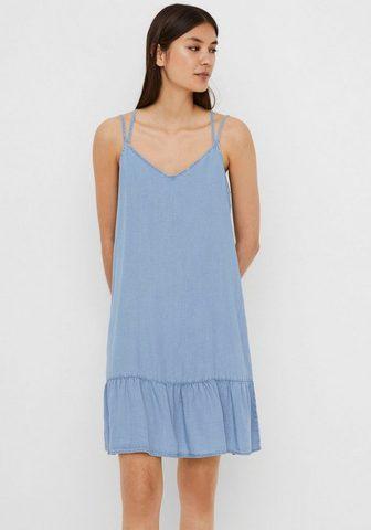 Vero Moda Džinsinė suknelė »VMVIVIANA SINGLET SH...