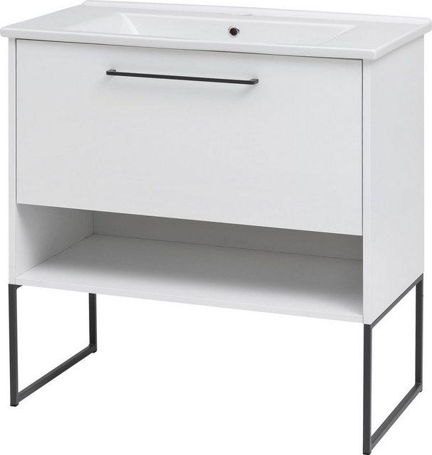 Waschtische - Schildmeyer Waschtisch »Limone«, Breite 85 cm, mit Keramikbecken  - Onlineshop OTTO