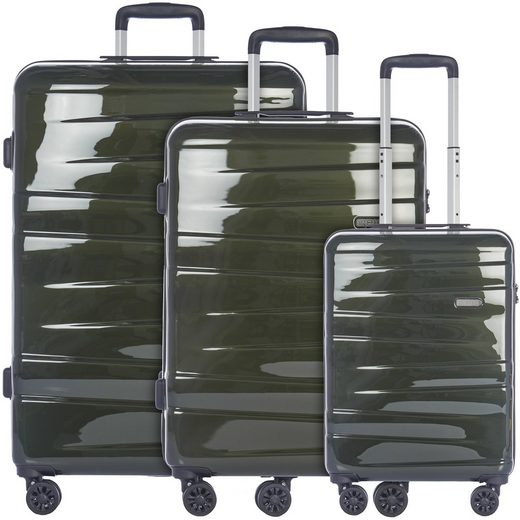 EPIC Trolleyset »VisionVision«, 4 Rollen, (3-teilig), ABS