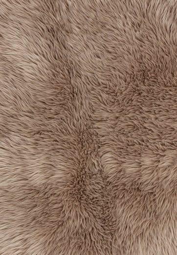 Fellteppich »Mia«, ASTRA, rechteckig, Höhe 50 mm, Kunstfell, waschbar, Wunschmass, Wohnzimmer