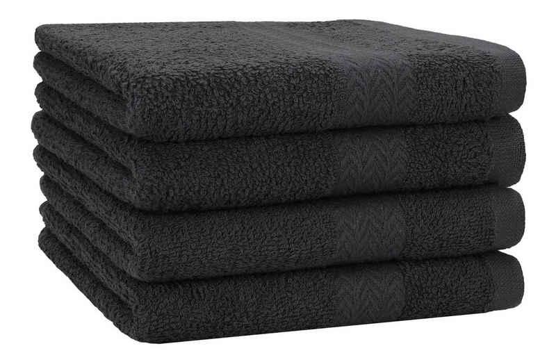 Betz Duschtücher »4 Stück Strandtücher Duschtücher Set Größe 70x140 cm Duschhandtuch Badetuch Strandtuch Handtuch PREMIUM 100% Baumwolle« (4-St)