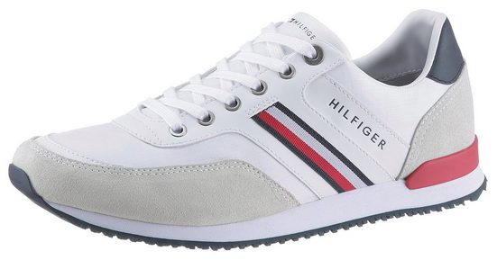 TOMMY HILFIGER »MAXWELL25C - ICONIC MATERIAL MIX RUNNER« Sneaker mit Kontrastbesätzen