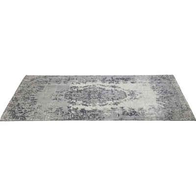 Designteppich »Teppich Kelim Pop grau 200x300cm«, KARE, Höhe 1 mm