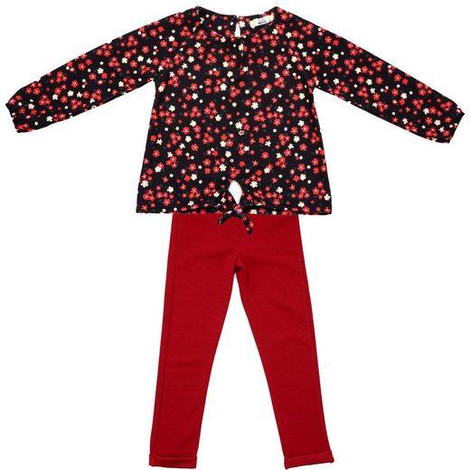 ANELY Sweathose »2886« Pullover und Hosen Set mit Blumenmuster