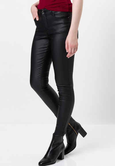 Zero Skinny-fit-Jeans »Coated Skinny Fit 30 Inch«