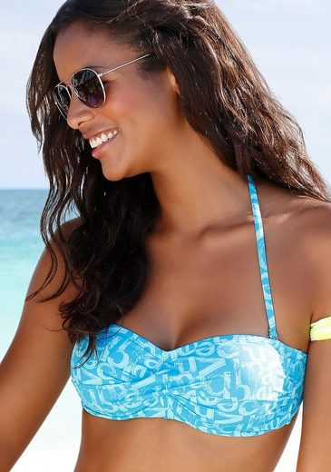 Venice Beach Bandeau-Bikini-Top »Karibik«, mit coolem Alloverprint