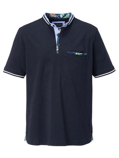 Babista Shirt mit modischem Stehkragen in Doppeloptik