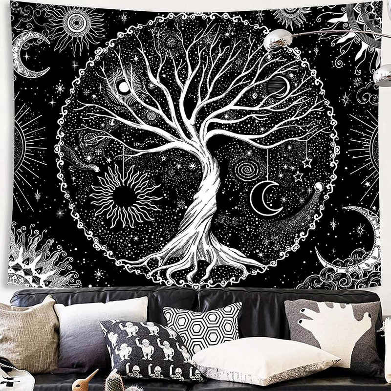 Wandteppich »Wandbehang«, Masbekte, Tapisserie, Wandkuns, Wandtuchst, Tagesdecke, Strandtuch, Dekor
