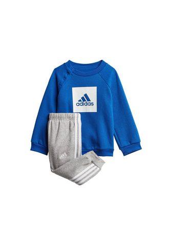 adidas Performance Jogginganzug »3-STREIFEN FLEECE« (Set ...
