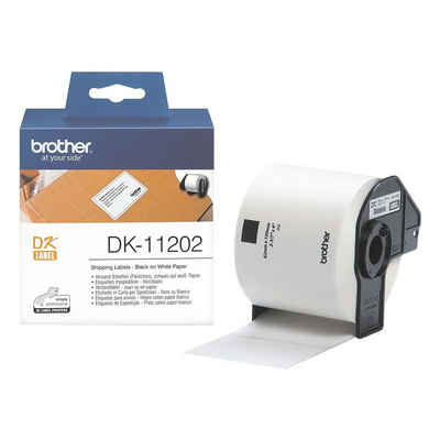 Brother Thermorolle »DK11202«, 300 Versand-Etiketten B/L 62/100 mm