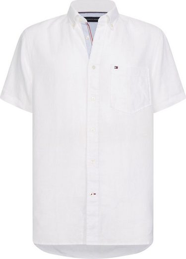 Tommy Hilfiger Big & Tall Kurzarmhemd »Big &Tall LINEN SHIRT«