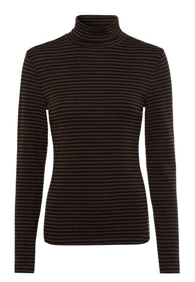Zero T-Shirt »mit Streifen« Plain/ohne Details