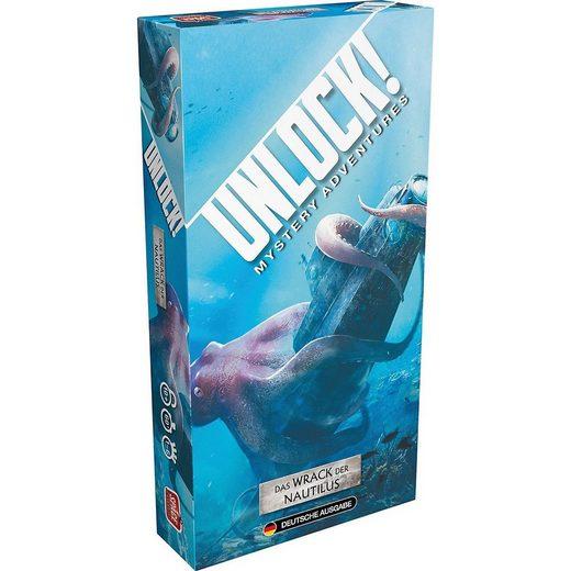 Asmodee Spiel, »Unlock! Das Wrack der Nautilus«