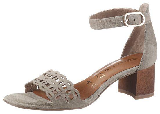 Tamaris »DESIE« Sandalette mit rutschhemmenden ANTIslide-Absatz