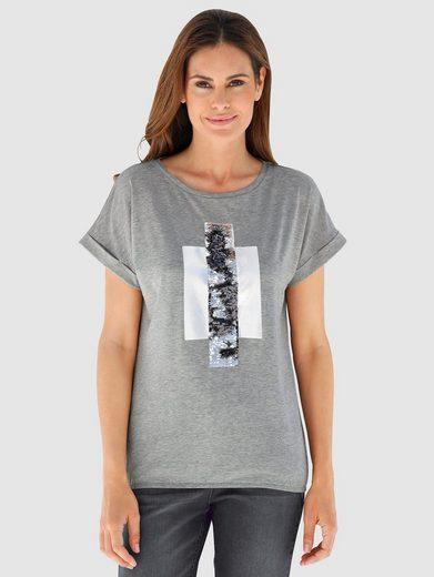 Laura Kent Shirt mit modisch überschnittener Schulter