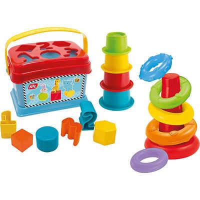 SIMBA Steckspielzeug »ABC Baby Spielset, Ringpyramide«