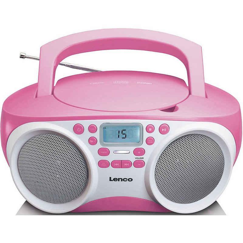 Lenco »SCD-200BU - FM-Radio mit CD/MP3-Player und« CD-Player