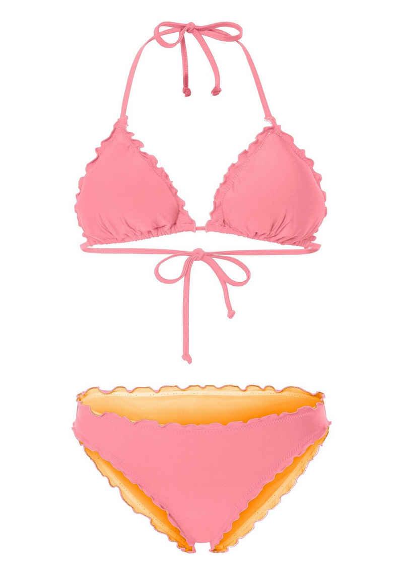 Chiemsee Triangel-Bikini »mit Rüschenkante« (2 St)