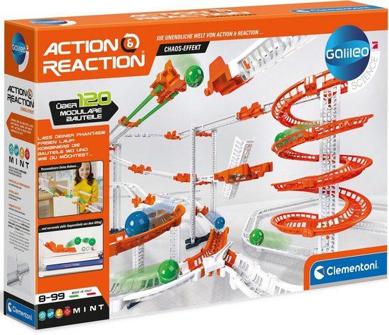 Clementoni® Kugelbahn »Galileo - Action & Reaction - Chaos Effekt«