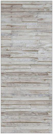 MySpotti Spritzschutz »fresh F1 Wood Planks«, 100 x 255 cm