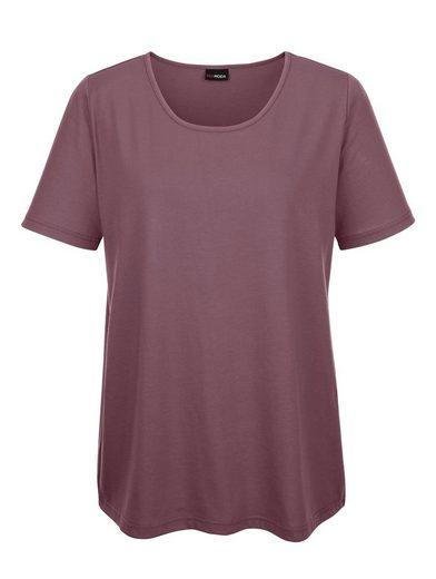 MIAMODA Shirt in kurzer Länge