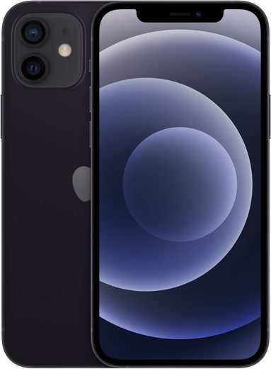 Apple iPhone 12 Smartphone (15,5 cm/6,1 Zoll, 64 GB Speicherplatz, 12 MP Kamera, kompatibel mit AirPods, AirPods Pro, Earpods Kopfhörer)