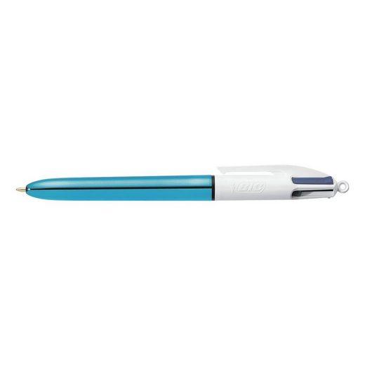 BIC Kugelschreiber »4 Colours Shine«, 4 Farben in einem Stift