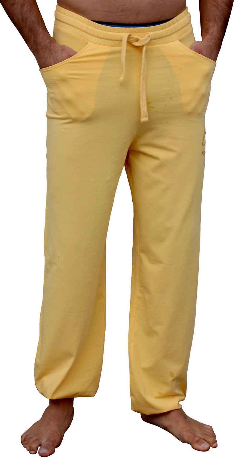 ESPARTO Yogahose »Yoga- und Sporthose Sitaara« (mit Kordel im Bund) Bindegürtel / -kordel