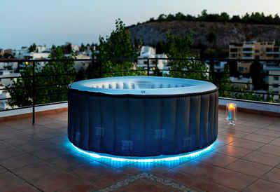 mSpa Whirlpool »STARRY«, ØxH: 180x70 cm, mit LED Beleuchtung
