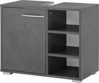 Wilmes Waschbeckenunterschrank »Wiek« Badmöbel aus Holzwerkstoff, mit Regal
