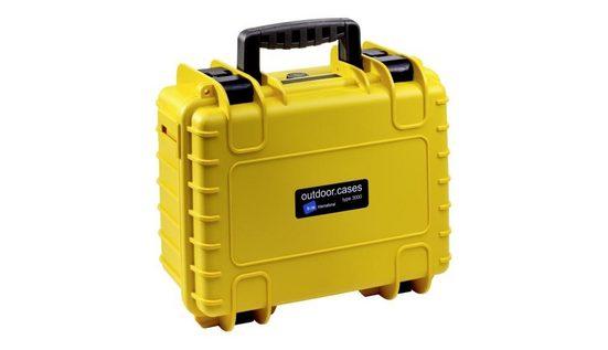 B&W International Fotorucksack »B&W Case Type 3000 RPD gelb mit Facheinteilung«