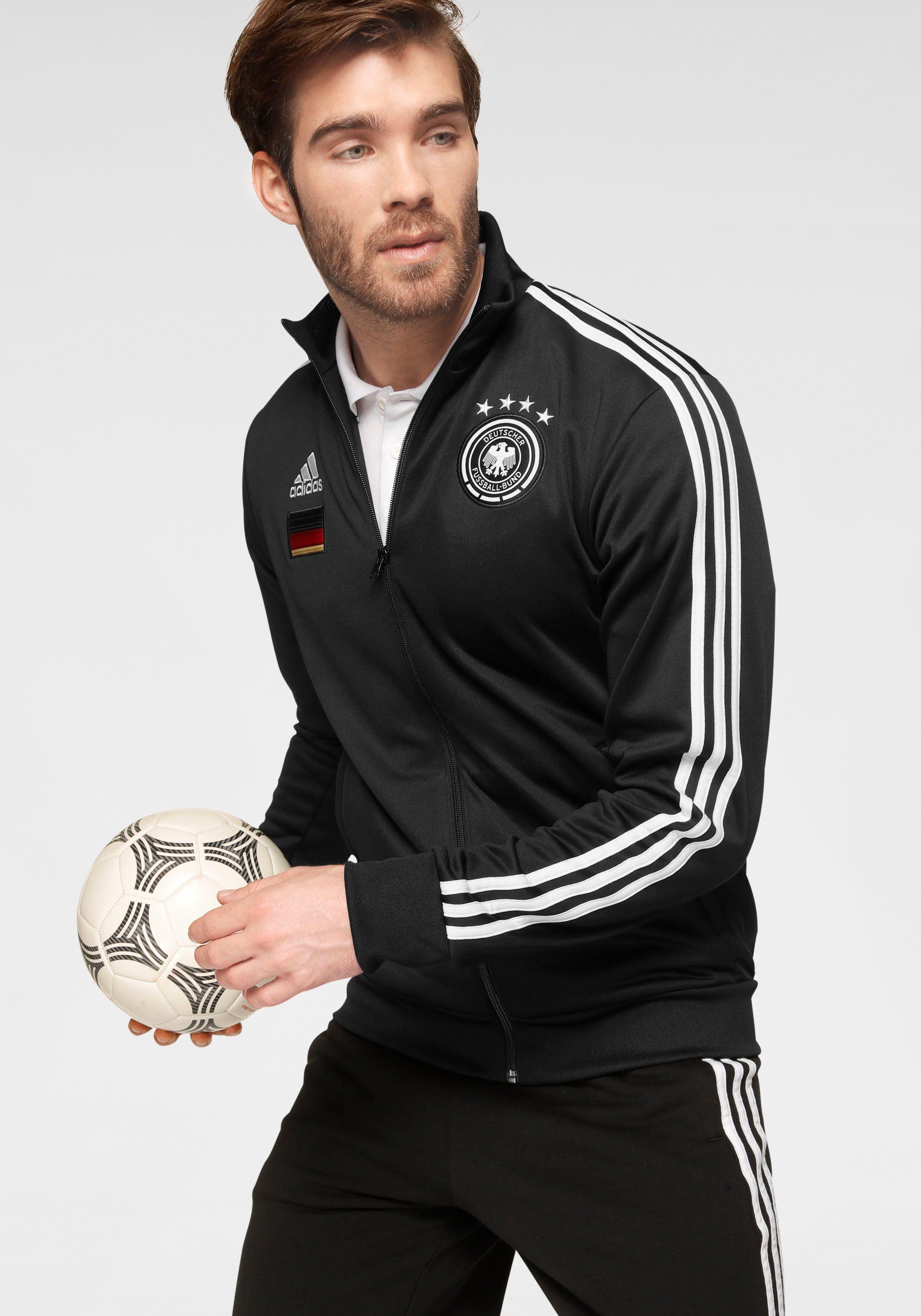 adidas Herren DFB Trainingsjacke DFB 3 Stripes Track Top EM