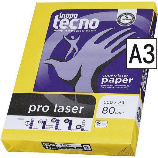 Inapa tecno Druckerpapier »Pro Laser«, Format DIN A3, 80 g/m²