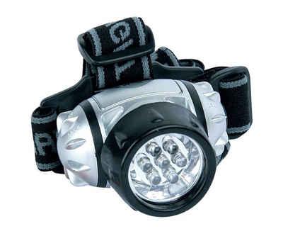 Brüder Mannesmann Werkzeuge LED Stirnlampe, LED Kopflampe inkl. Batterien Laufen Joggen Werkstatt Lampe Leuchte Taschenlampe