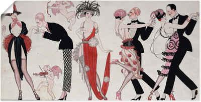 Artland Wandbild »Tango.«, Sport (1 Stück), in vielen Größen & Produktarten -Leinwandbild, Poster, Wandaufkleber / Wandtattoo auch für Badezimmer geeignet