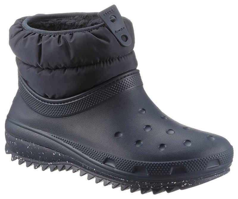 Crocs »Classic Neo Puff Shorty Boot« Snowboots mit elastischem Schafteinstieg