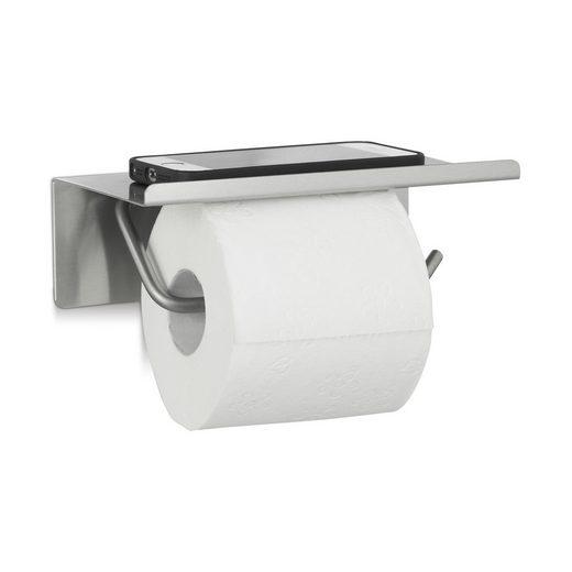 relaxdays Toilettenpapierhalter »Toilettenpapierhalter Edelstahl«