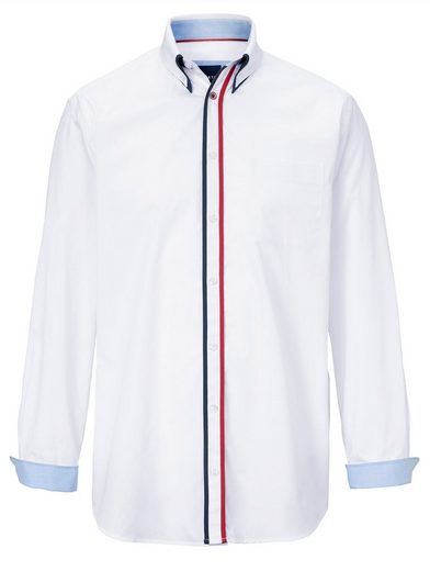 Schlussverkauf Babista Hemd mit Doppelkragen im Button-Down-Stil