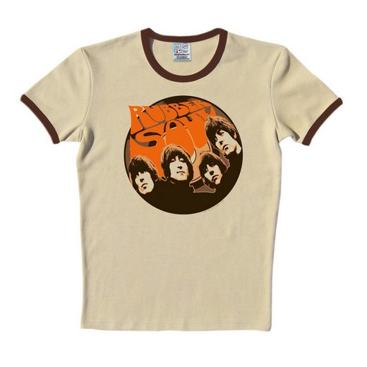 LOGOSHIRT T-Shirt mit The Beatles-Print »The Beatles Rubber Soul«