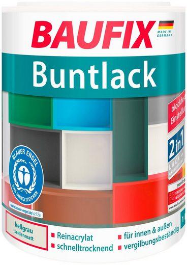 BAUFIX Acryl Buntlack seidenmatt hellgrau, 1 l