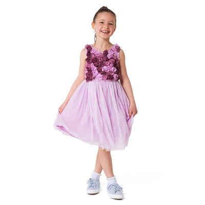 MyToys-COLLECTION Jerseykleid »Kinder Kleid mit Tüll von ZAB kids«