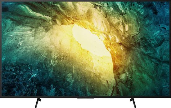 Sony KD65X7055 Bravia LED-Fernseher (164 cm/65 Zoll, 4K Ultra HD, Smart-TV, Bravia)