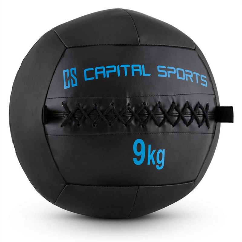 Capital Sports Medizinball »Epitomer Wall Ball 9kg Kunstleder schwarz«