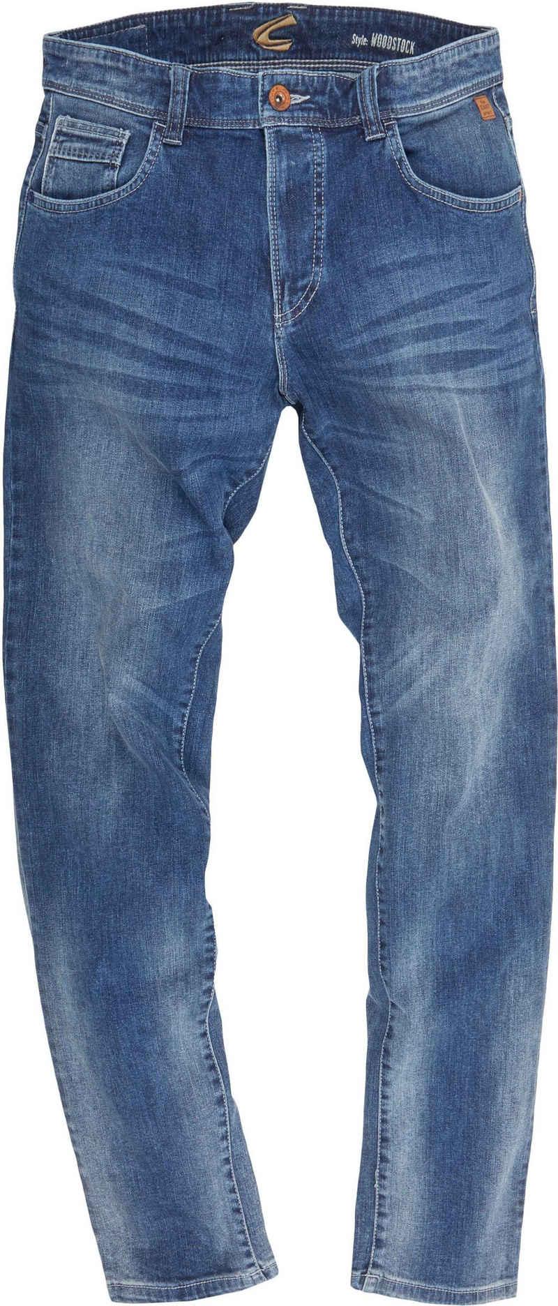 camel active 5-Pocket-Jeans »WOODSTOCK«