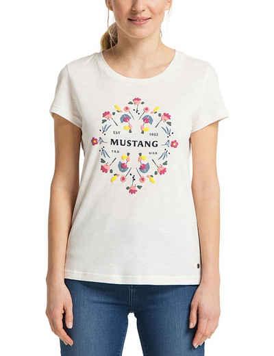 MUSTANG T-Shirt »Alexia C Puff« kurzarm
